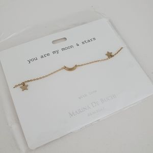Make offer!! You Are My Moon & Stars Bracelet
